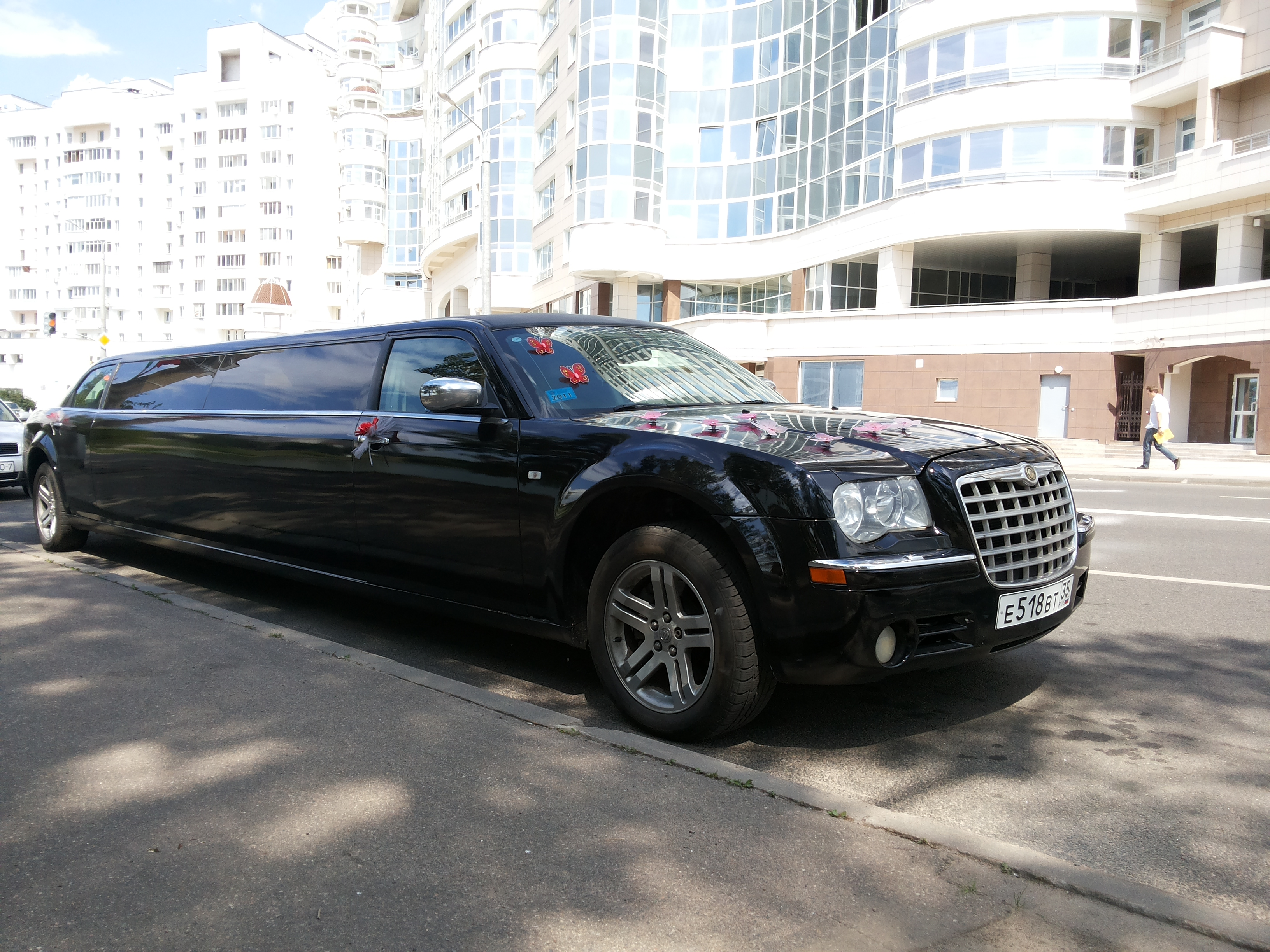 ЛЛИМУЗИН CHRYSLER 300C ЧЕРНЫЙ